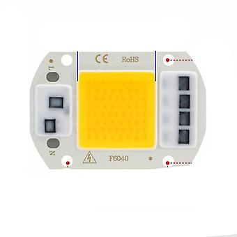 Led Cob Chip 10w/20w/30w/50w/220v, Smart Ic Ingen trenger Driver 3w/5w/7w/9w Led-pære