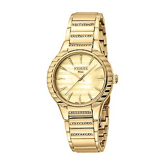 Ferre Milano Ladies Champagne MOP Dial GP MB Watch