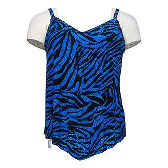 DreamShaper by Miracle Suit Swimsuit Hank Tankini Top Black A375828