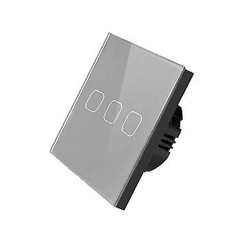 Smart Life/ewelink 1/2/3 Gang 1 Way Wifi Wall Light Touch Switch For Google