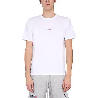Autry Tsxma03m Men's Valkoinen Puuvilla T-paita