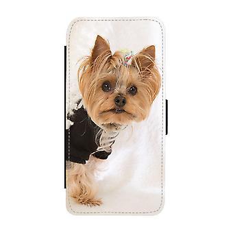 Hund Yorkshireterrier iPhone 12 Mini Plånboksfodral