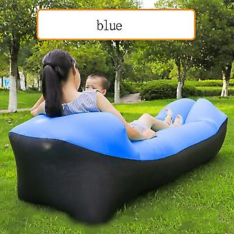 Outdoor Sofa Sleeping Bag Portable Folding Rapid Inflatable Adults Kids Beach