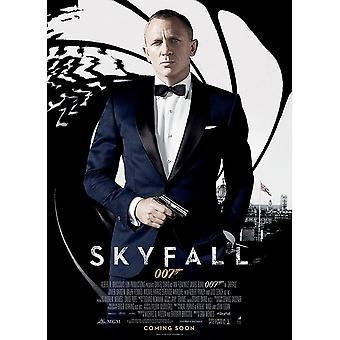 James Bond Skyfall Postcard