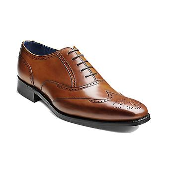 Barker Johnny - Antique Rosewood Calf - 10 | Mens Handmade Leather Brogue | Barker Shoes