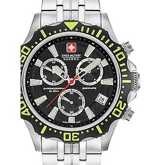 Mens Watch Swiss Military Hanowa 06-5305.04.007.06, Quartz, 45mm, 10ATM