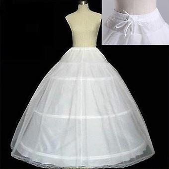 Vanteet Petticoat Crinoline Slip Underskirt Hääpuku Morsiuspuku