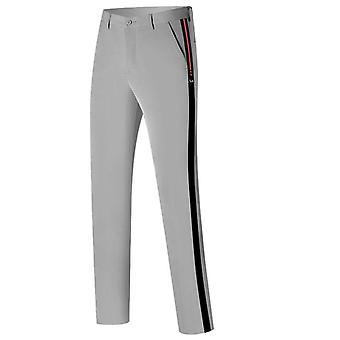 Spring Autumn New Golf Pants Solid Color Fashion Casual Men Wear Quick-drying