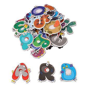 41 lettres de paquet et nombres autocollants d'aimant de réfrigérateur à la maison jouet d'enfant en bas âge d'école