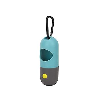 Dog Poop Pungi Dispenser În aer liber Portabil Pet Trash Bags Led Light Eco-friendly