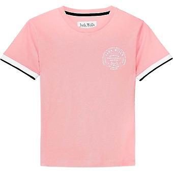 Jack Wills Debran Ringer T Shirt