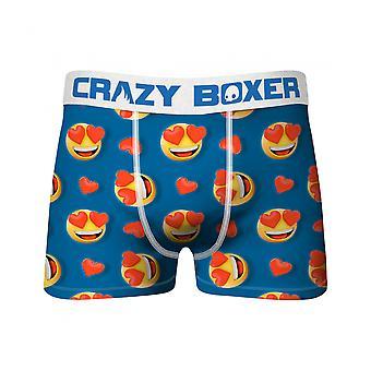Crazy Boxers Heart Eyes Emojis Boxer Briefs