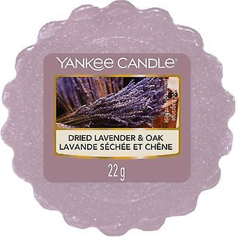 Yankee candle dried lavender oak wax tart
