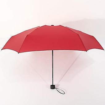 Mini Pocket Umbrella Women Uv Small 180g Rain Waterproof Men Sun Parasol