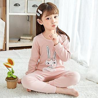 Lapset Pyjama, Totoro Puuvilla vaatteet, Housut setti, Sarjakuva Sleepwear,,
