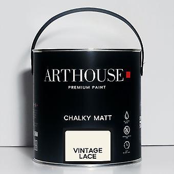 Chalky Matt Paint 2.5l Vintage Lace Arthouse 1219