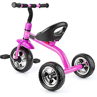 Xootz Tricycle for barn, Trike Easy Clip og Portable - Rosa
