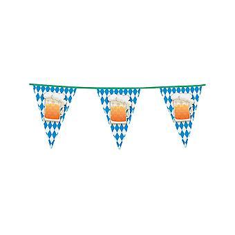 Guirlande à fanions Oktoberfest 6 m