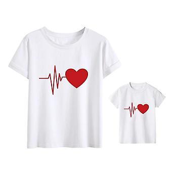 Love Mommy Clothes, Heartbeat T-paita, Vauvan t-paita