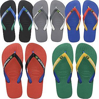 Havaianas Mens Brasil Mix Casual Summer Beach Sandals Thongs Flip Flops