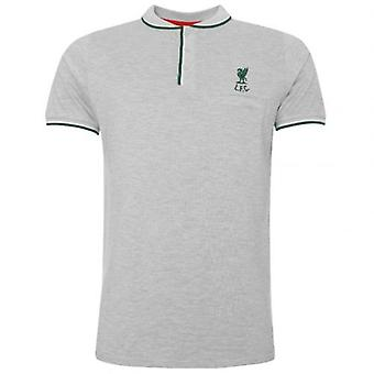 Liverpool Birdseye Polo Mens Grey S