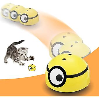 Interactive Cat Toy Intelligent Escaping, Moving Ball For Small Dogs