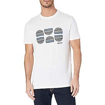 Springfield Camiseta Regular Feel Free T-Shirt, Snow White, M Man