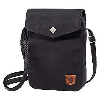 Fjällräven Grönlannin tasku, lompakot ja pikkupussit Unisex Aikuinen, Musta, 22 Senttimetriä
