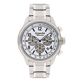 Gigandet Journey Reloj para hombres cronógrafo analógico azul cuarzo blanco G25-005