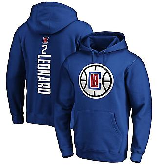 Los Angeles Clippers No.2 Kawhi Leonard Pullover Hoodie Swearshirt Tops 3wy456