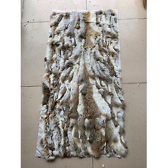 Genuine Rabbit Fur Blanket Leather Soft Plate Mattress