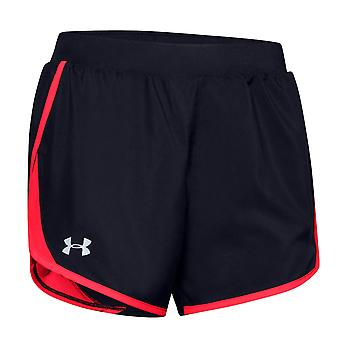 Under Armour Fly By 2.0 Womens Ladies Fitness Training Short Black/Pink