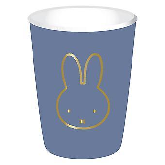 Cups Miffy Blue, 8Pcs.