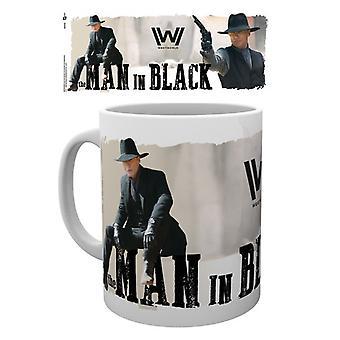 Westworld Man In Black Mug