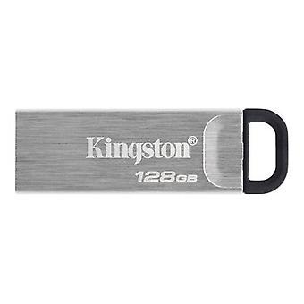 Kingston 128GB USB 3.2 Gen1 Paměťové pero, DataTraveler Kyson, Design bez krytu kovu, R / W 200 / 60 MB / s