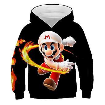 Trendy Fashion 3d Print Soft Hoodie Cartoon Clothing Hooded Sweatshirt