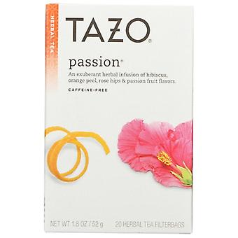 Tazo Tea Bag Decaf Passion, Case of 6 X 20 Bags