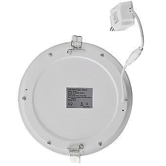 24w Ультратонкий круглый потолочный светильник Led Кухонный светильник Панель лампы для прачечной Лестница Кухня Спальня - Холодный белый