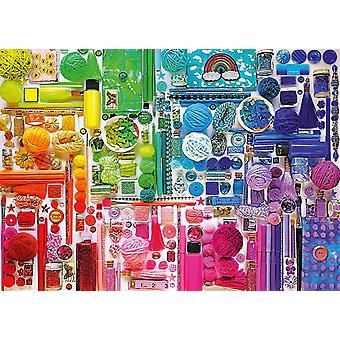 Schmidt färger av regnbåge pussel (1000 stycken)