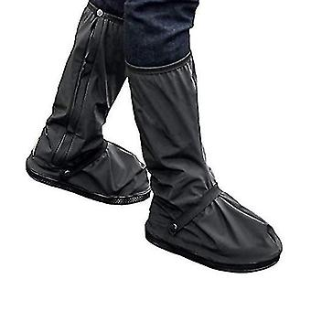 Waterproof Rain Boot Shoe Cover With Reflector(XL)