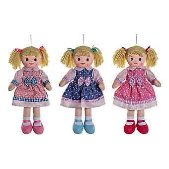 Rag Doll DKD Hjemmedekor (3 stk) (22 x 7 x 50 cm)