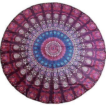 Patroon Beach Shawl Wrap (Multifärg)