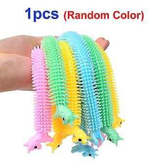 New tpr flexible glue noodle elastic force stress reliever toy vent antistress hand adult squeeze sensory toys for children gift