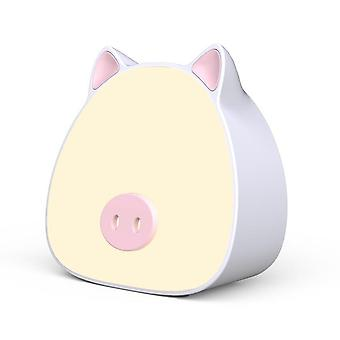 New creative lighting pig beibei bedroom bedside night light touch sensor led sleeping atmosphere light new year's day gift