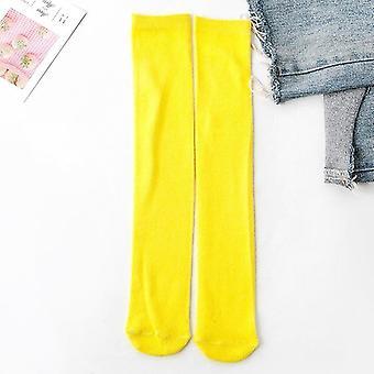 Baby Baumwolle Knie Hoch Lange Beinwärmer Süße Socken