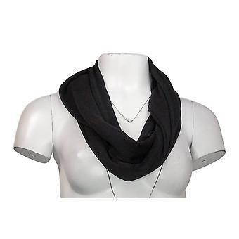 Rhonda Shear Plus 1X Infinity Wrap Scarf Black 633734