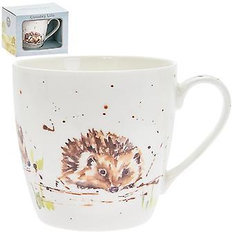 Country Life Mug Hedgehog