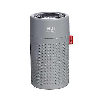 Humidifiers large capacity 750ml humidifier wireless usb rechargeable led mist maker|humidifiers gray