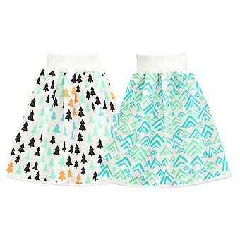 2 חבילות חצאית חיתול לתינוק