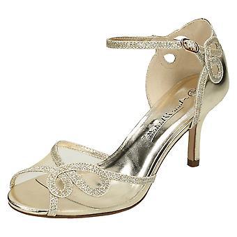 Ladies Anne Michelle Mid Heel Sandals F10583